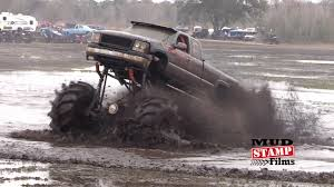 100 Truck Mud Run Called Big Guns With 2600 HP Romps Around In The