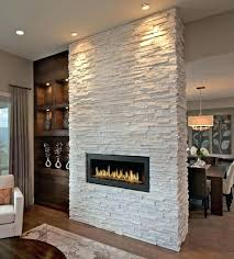 Painted Flagstone Fireplace Best Painted Stone Fireplace Ideas