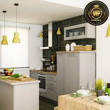 moderne einbauküche damiana loft küche massivholzküche grau