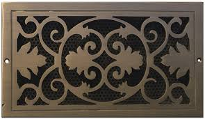 Decorative Return Air Grille 20 X 20 by Victorian Vent Decorative Air Return Covers