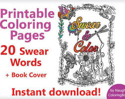 Adult Coloring Book Pages Funny Gift Printable 20
