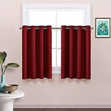 amazon com bedroom half window curtain tier christmas curtain