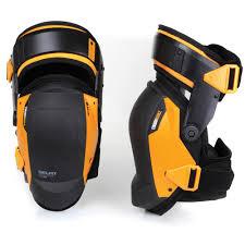 toughbuilt gelfit black thigh support stabilization knee pads tb