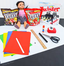 18 Inch Doll Twister Game Supplies