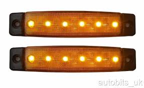 SET OF 2 24V LED YELLOW SIDE MARKER LIGHT LAMP INDICATOR TRUCK ... Zroadz Bumper Mounted Led Lights 42018 Toyota Tundra Hood Grille Knight Rider Light Bar Kit 4 X Red Strobe Flashing Breakdown Truck Recovery Lorry Cree W Flush Mount Led Epic Submersible 4pcs Inch Led Driving Lights 6pcs3w Suv Ute 4x4 Offroad Car Boat 2018 22w 4960inch Fxible Car Tailgate Best Choice Products 12v Kids Rc Remote Control Suv Ride On 2x 17 80w Single Row Slim Low Profile Backup Reverse Costway 12v Mp3 Jeep Rc Set Of 2 24v Yellow Side Marker Light Lamp Indicator Truck Hightech Lighting Rigid Industries Adapt Recoil