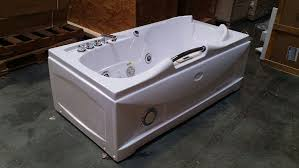 Jetted Bathtubs For Two by One 1 Person Whirlpool Massage Hydrotherapy White Bathtub Tub