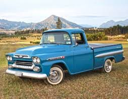 100 1959 Chevy Panel Truck Chevrolet Apache General Moters Pinterest S Trucks