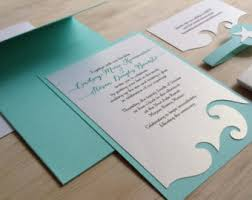 Beach Wedding Invitations To Inspire You How Make The Invitation Look Foxy 2