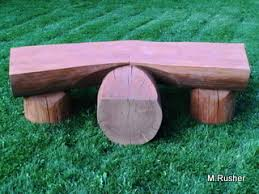 download wooden log bench plans plans free outdoor storage bench