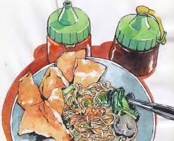 Ikuti Weekend Workshop Special MAS PACAR Special Watercolor Food Illustration bersama kak Cimot cimsview
