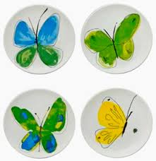 Vera Neumann Papillion Dream Canape Plate