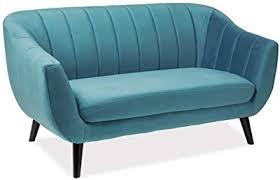 casa padrino luxus samt sofa 153 x 85 x h 83 cm wohnzimmer