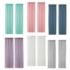 ikea gardinen vorhänge für wohnzimmer günstig kaufen ebay