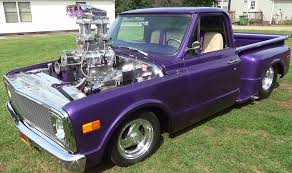 1968 Chevy C/10 Pickup Pro Street Blown Mafia - YouTube