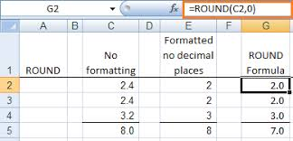 Excel Floor Ceiling Functions by How To Round Numbers In Excel Using 3 Rounding Functions
