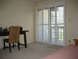 Sliding Door With Blinds In The Glass by Shutters For Sliding Glass Doors With Blinds Inside Exterior