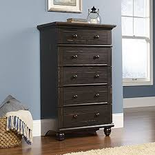 Sauder Shoal Creek Dresser Walmart by Harbor View 5 Drawer Antiqued Paint Chest 401323 The Home Depot