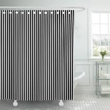 pkqwtm modern schwarz weiß streifenmuster streifen streifen coole badezimmer dekor bad duschvorhang 165x180 cm