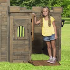 Windsor Castle Playhouse - Playhouse | Backyard Discovery A Diy Playhouse Looks Impressive With Fake Stone Exterior Paneling Build A Beautiful Playhouse Hgtv Building Our Backyard Castle Wood Naturally Emily Henderson Best Modern Ideas On Pinterest Kids Outdoor Backyard Castle Plans Plans Idea Forget The Couch Forts I Played In This As Kid Playhouses Playsets Swing Sets The Home Depot Pirate Ship Kits With Garden Delightful Picture Of Kid Playroom And Clubhouse Fort No Adults Allowed
