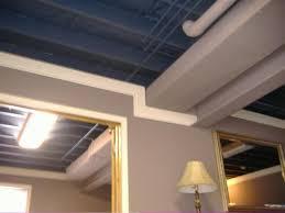 Cheap Diy Basement Ceiling Ideas by Cheap And Easy Basement Ceiling Ideas Easy Basement Ceiling