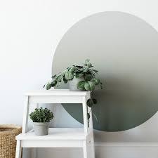 wall wandtattoo olive farbverlauf infinity