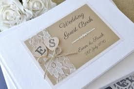 Luxury Personalised Wedding Guest Book 2