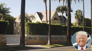100 Holmby Hills La Donald Trumps Beverly Home An LA Traffic Disaster