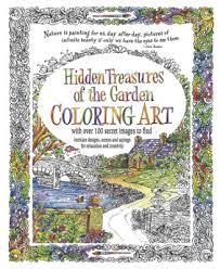 Hidden Treasures Of The Garden Coloring Book