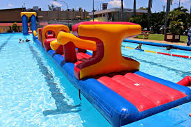 ANZAC Pools Giant Inflatable Slides