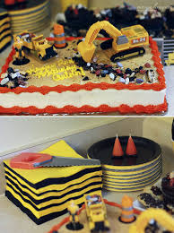 Construction Truck Cake - We Used A Saw To Make The First Cut ... Birthday Cstruction Themed Party With Free Printables  Noted Trucks Pictures Amazon Com 12340 Watsons Cstruction Truck Birthday Party Holy City Chic Truck Dessert Cake Plates Napkins And Cups Home Ideas Invitations Monster Fire Envelopes First Themed Invites Items Similar To Augustines 2nd M Loves Stay At Homeista Boys Name Age Poster Crane
