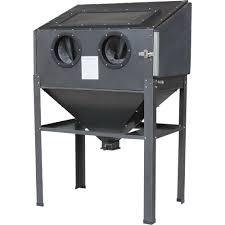 Media Blasting Cabinet Lighting by Shop Tuff Abrasive Blast Cabinet U2014 40 Lb Capacity Model Stf