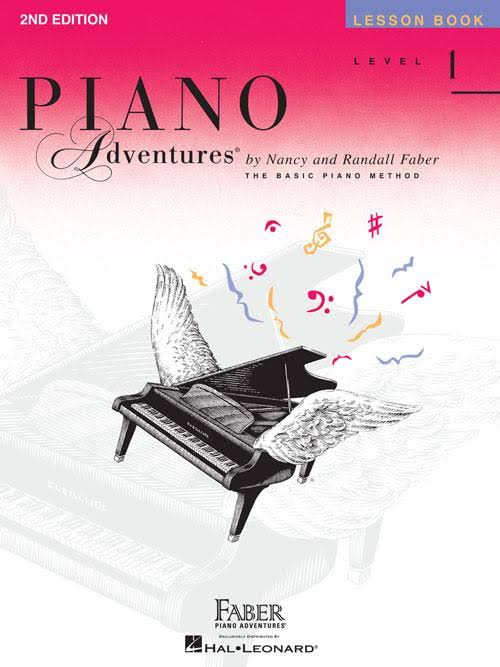 Faber Piano Adventures Lesson Book: Level 1 - Nancy Faber, Randall Faber
