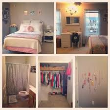 My Perfect College Apartment Bedroom Grey Pink Mint