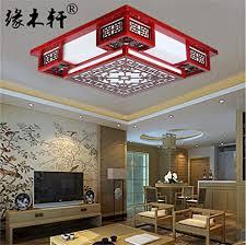 brightllt chinesische decke len wohnzimmer licht square
