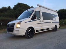 VW CRAFTER CAMPER VAN WITH GARAGE SUITABLE FOR MX MOTORCROSSKARTING RACEVAN