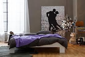 inspiration zeitlos dunkles grau zu violett und eichenholz