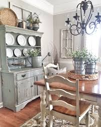 Best 25 Farmhouse Dining Rooms Ideas On Pinterest Inside Country Room Decor 19
