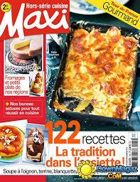 recettes maxi cuisine maxi hors série cuisine novembre décembre 2015 no 13