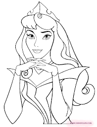 Sleeping Beauty Printable Coloring Pages 3