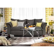 Value City Furniturecom by Perry Graphite Upholstery Sofa Furniture Com Living Room Ideas