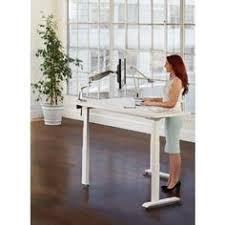 mayline varitask xr 5300sl l shape sit to stand desk free