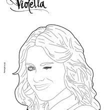Violetta Winks Coloring Page
