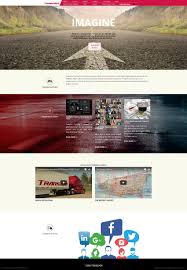 100 Kansas City Trucking Company Freight Web Design TransAm