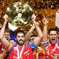 HandballEM 2018 Spanien Nach Sieg Im Finale Gegen Schweden