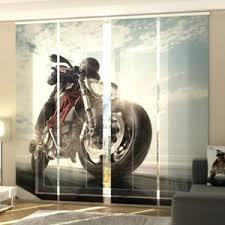 foto schiebegardine motorrad
