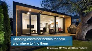 100 Shipping Container Home Sale Container Homes For Sale And Where To Find Them Luxury Shipping Container Home