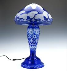 Target Lamp Base Blue by Table Lamps Blue Seeded Glass Table Lamp Cobalt Blue Glass