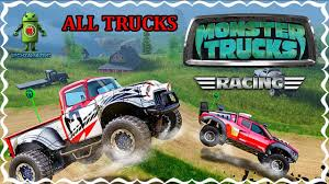 100 Monster Truck Race MONSTER TRUCKS RACING ALL TRUCKS UNLOCKED Gameplay IOS Android