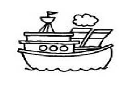 Sea Vehicles Coloring Pages For Preschool And Kindergarten