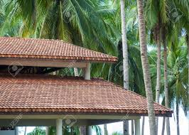 100 Modern Wooden House Design Wooden House With Red Clay Tile Roof Against The Background